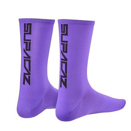 Supercaz Supasox Straight Up - Neon Purple