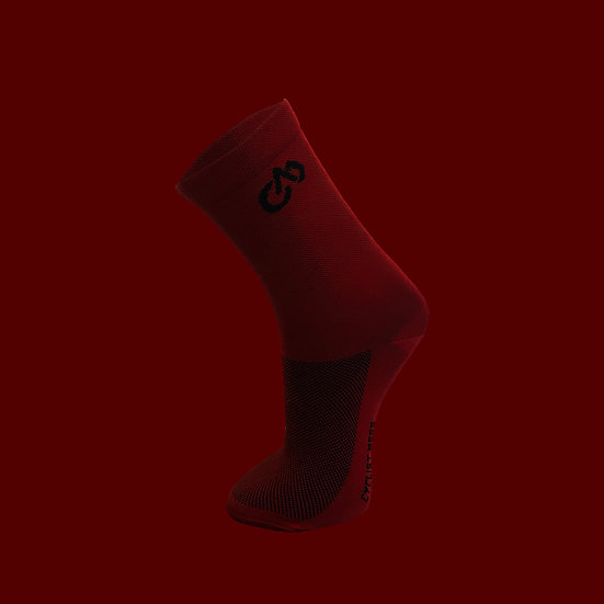 NNPQ Cycling Socks - Wine