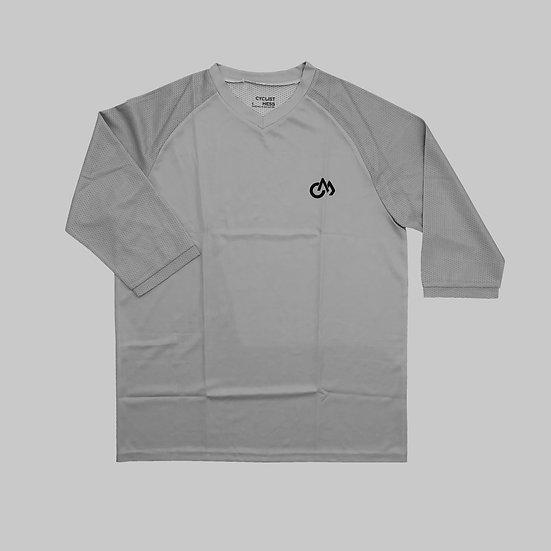 NNPQ 3/4 MTB Jersey Grey
