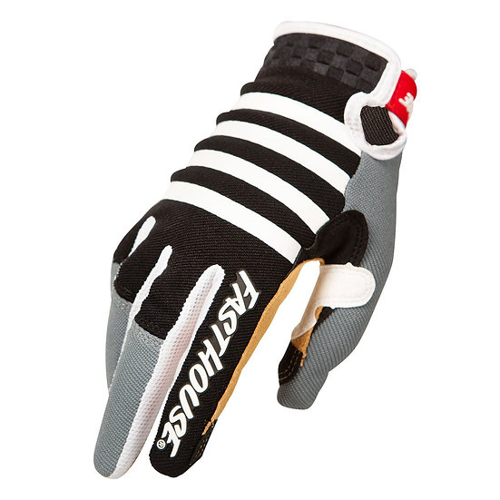 Fasthouse Speed Style Striper Glove - Black/Charcoal