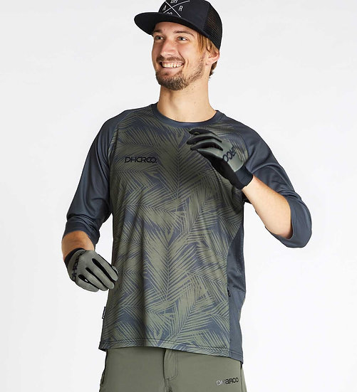 Dharco 3/4 Sleeve Jersey - Carbon Blades