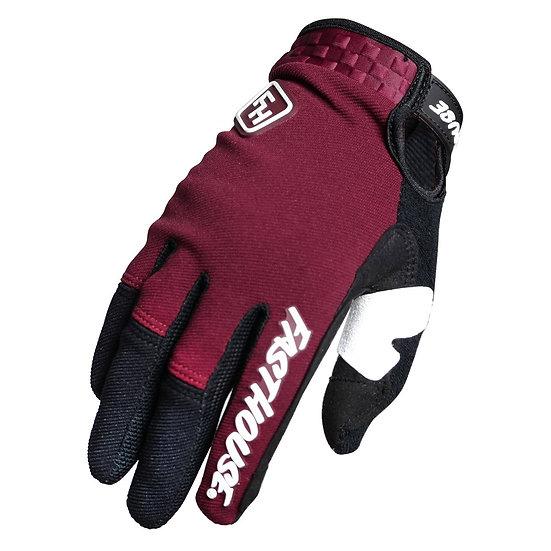 Fasthouse Speed Style Ridgeline+ Glove - Maroon/Black