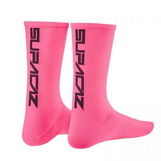 Supercaz Supasox Straight Up - Neon Pink