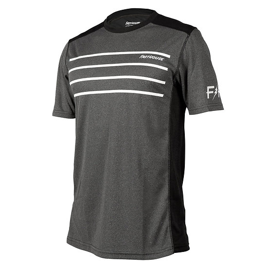 Fasthouse Classic Cartel SS Jersey - Heather Charcoal