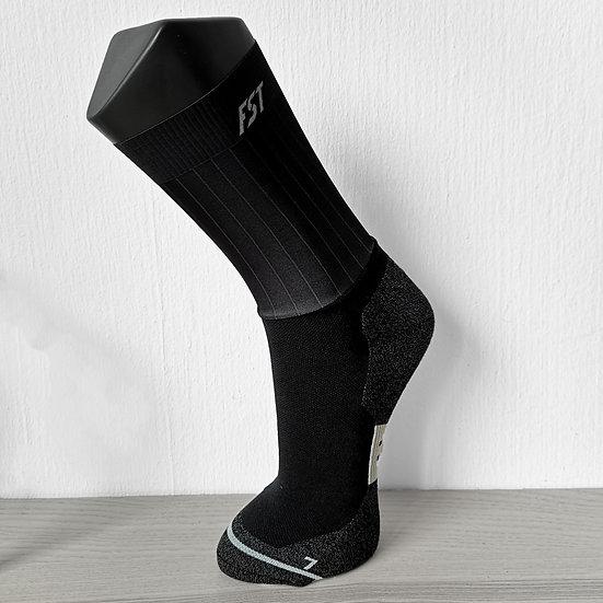 Stealth Black FST Aero Socks