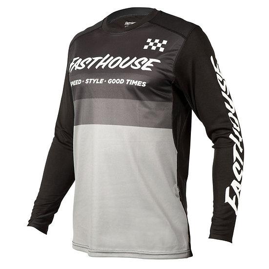 Fasthouse Alloy Kilo LS Jersey - Black/Grey