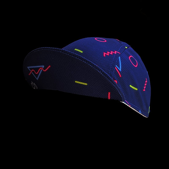 Neon Blaze Cycling Cap