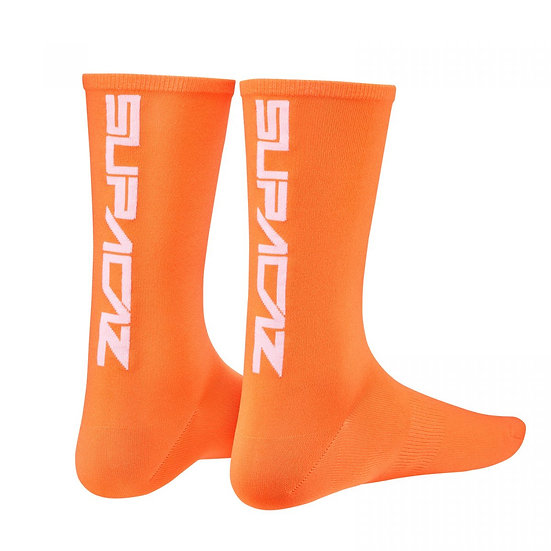 Supercaz Supasox Straight Up - Neon Orange