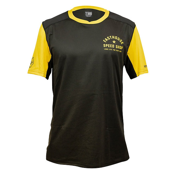 Fasthouse Alloy Star SS Jersey - Black/Gold