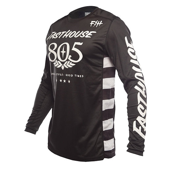 Fasthouse Classic 805 LS Jersey - Black