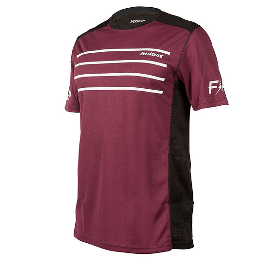 Fasthouse Classic Cartel SS Jersey - Heather Maroon