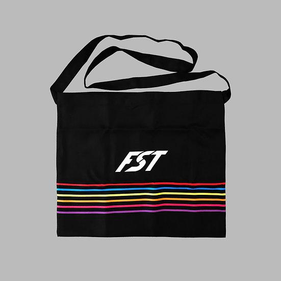 Black Bow Musette Bag