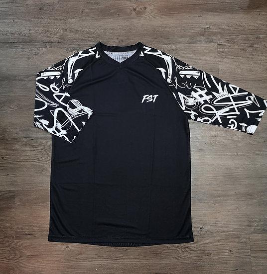FST Enduro Jersey - Black Lightning