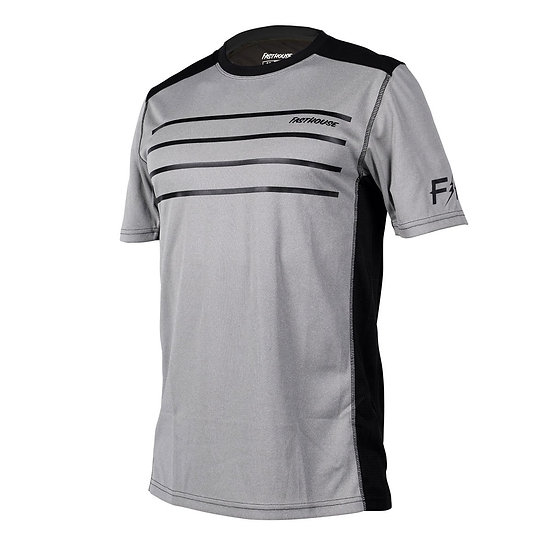 Fasthouse Classic Cartel SS Jersey - Heather Grey