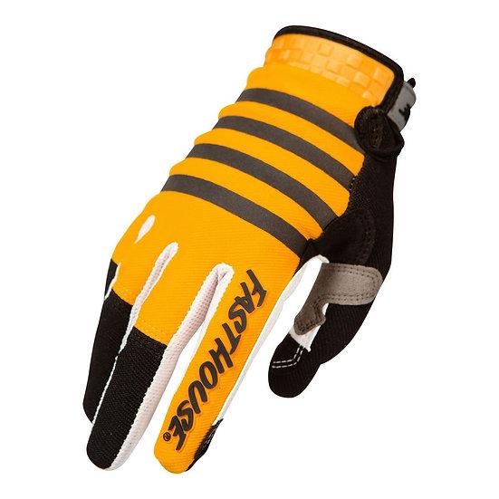 Fasthouse Speed Style Striper Glove - Yellow/Black