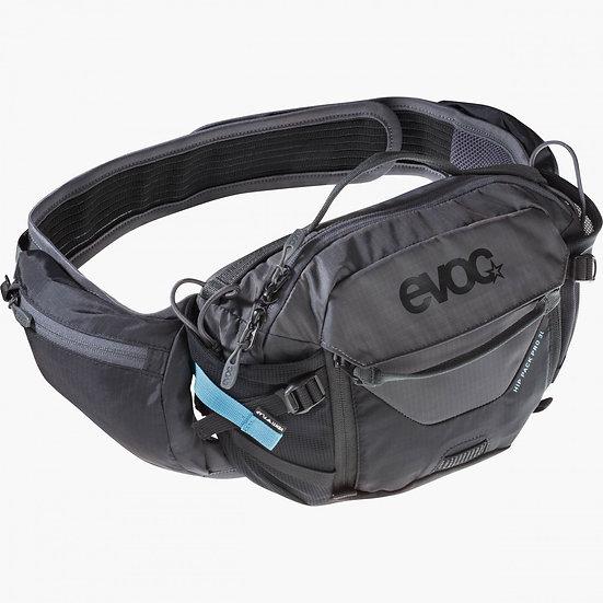Evoc Hip Pack Pro 3 - Black/Carbon