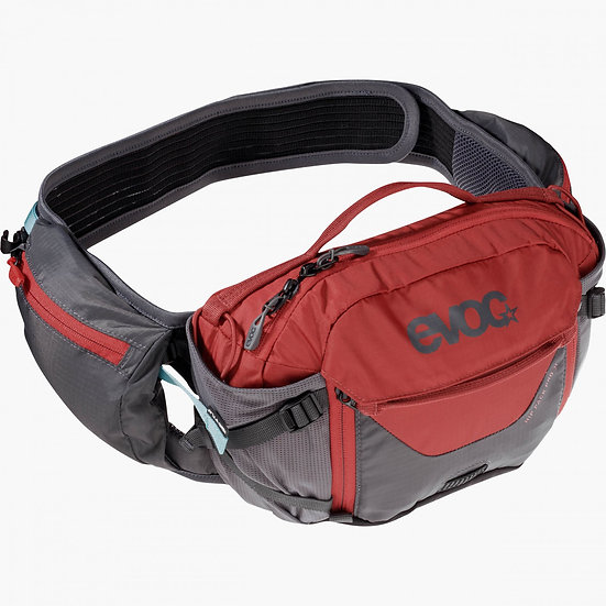 Evoc Hip Pack Pro 3 - Carbon Grey/Chili Red