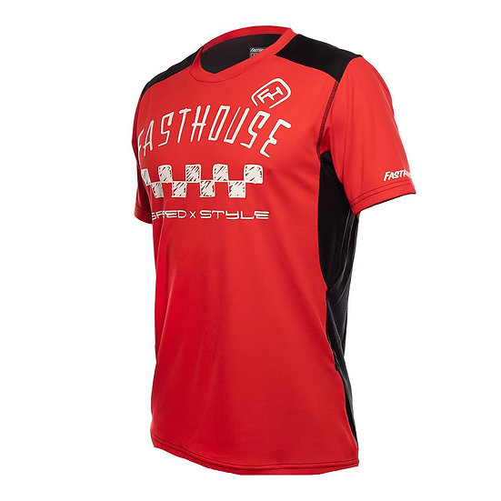Fasthouse Alloy Nelson SS Jersey - Red