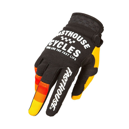 Fasthouse Speed Style Pacer Glove - Black/Yellow