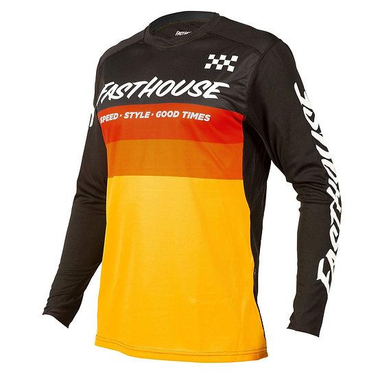 Fasthouse Alloy Kilo LS Jersey - Black/Yellow