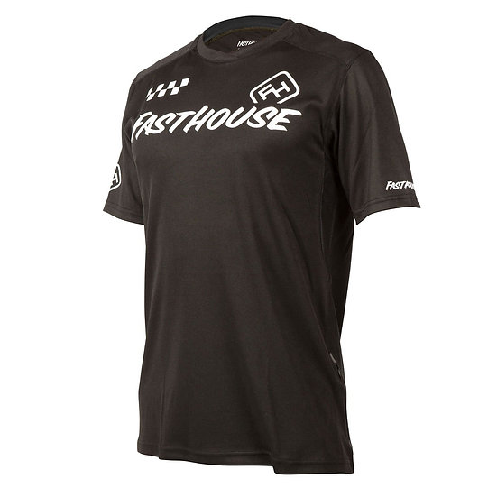 Fasthouse Alloy Block SS Jersey - Black