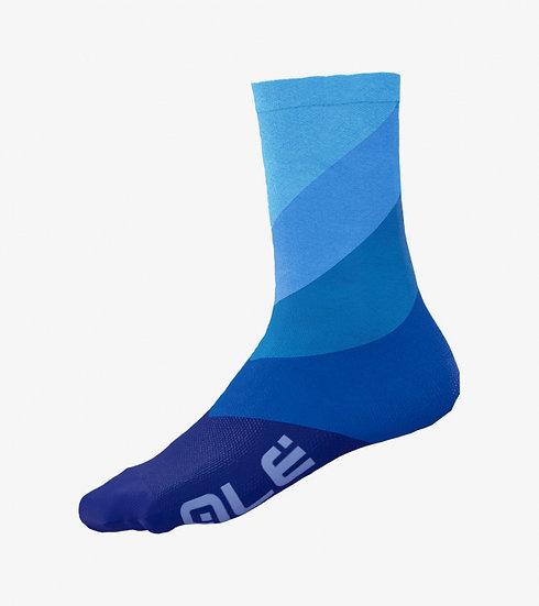 Alé Diagonal Digitopress Socks - Blue