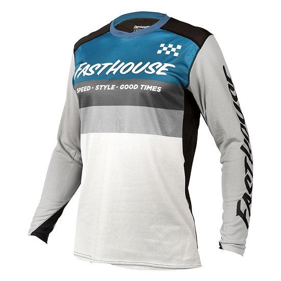 Fasthouse Alloy Kilo LS Jersey - Slate/White