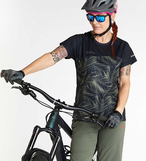 Dharco SS Womens Jersey - Camo Blades