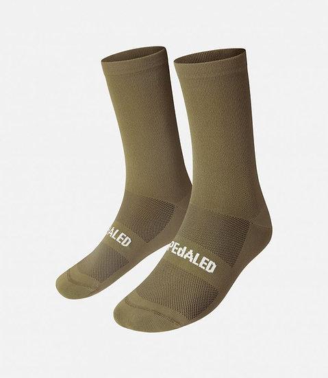 PEdALED Mirai Cycling Socks II - Olive Green