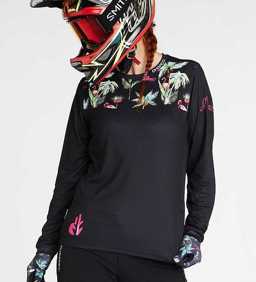 Dharco Womens Gravity Jersey - Flamingo
