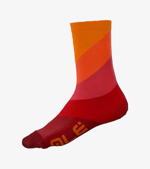 Alé Diagonal Digitopress Socks - Red