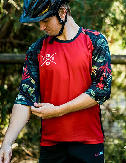 Dharco 3/4 Sleeve Jersey - Fast Tropical