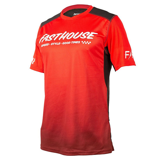 Fasthouse Alloy Slade SS Jersey - Red/Black