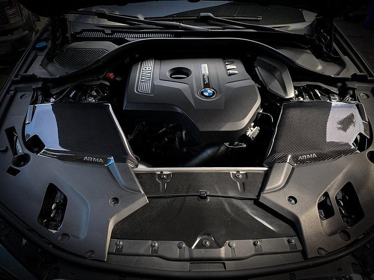 BMW G30 530i  540i Carbon Fiber Cold Air Intake