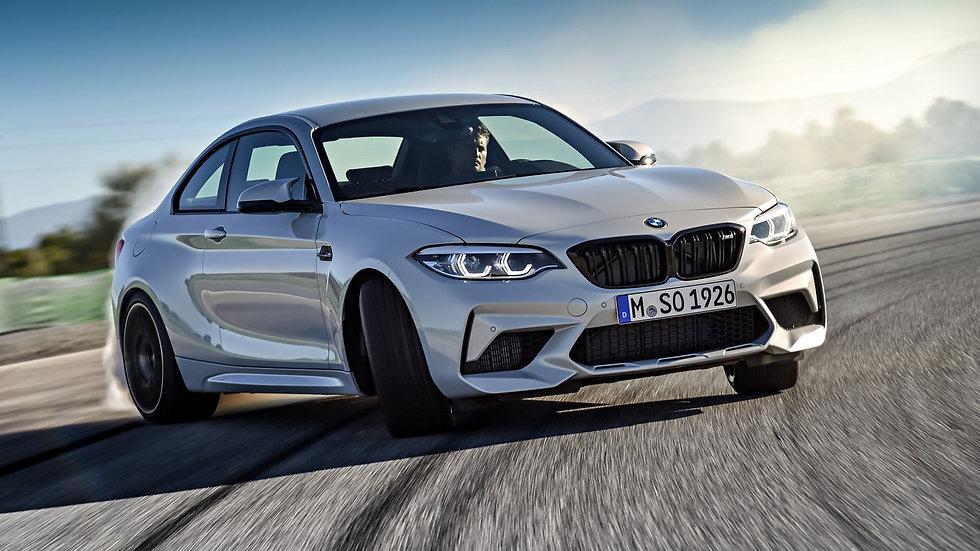 BMW F87 M2 Competition 6POT Front