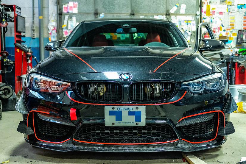 BMW F8X RACING AIR KNIFE