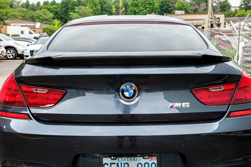 BMW M6 TRUNK SPOILER