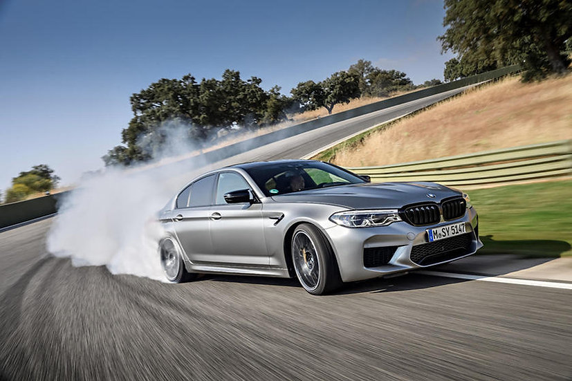 BMW M5 FRONT 18+