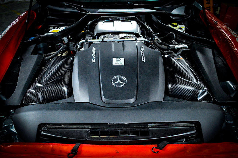 Mercedes Benz AMG GT C190/ R190 Carbon Fiber Cold Air Intake