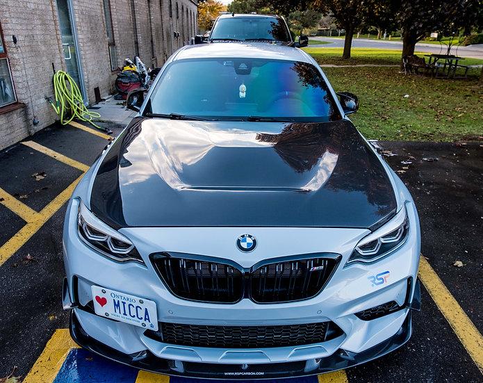 BMW F87 M2 GTS Style Carbon Fiber Hood