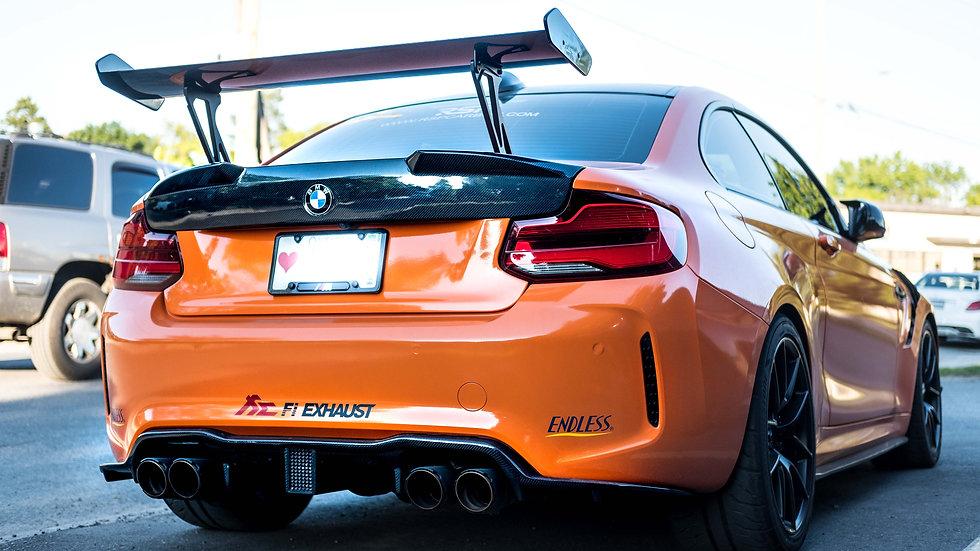 BMW F87 M2/M2C FULL CARBON TRUNK