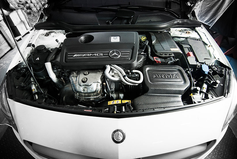 Mercedes-Benz C117 CLA 45 / W176 A45 Carbon Fiber Cold Air Intake