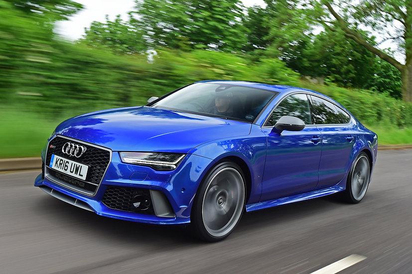 Audi RS7 6POT  14+ Rear