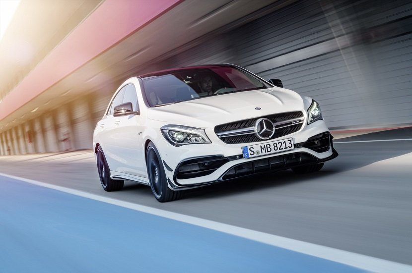 MB CLA45 Front