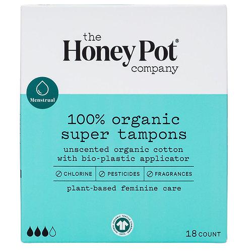 The Honey Pot Company - Super Tampons