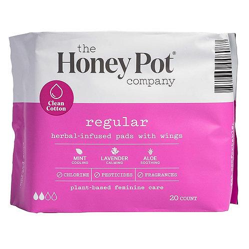 The Honey Pot Company - Regular Herbal Menstrual Pads