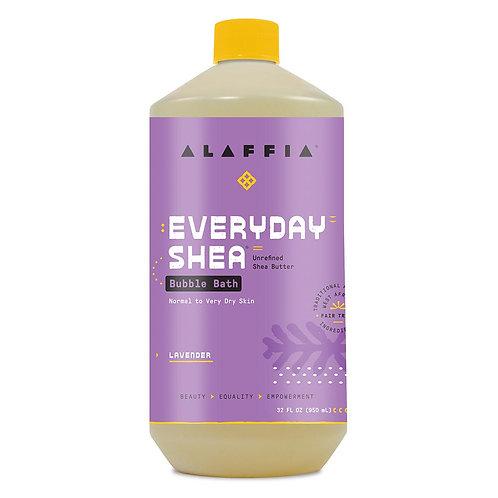 Alaffia Lavender Shea Bubble Bath