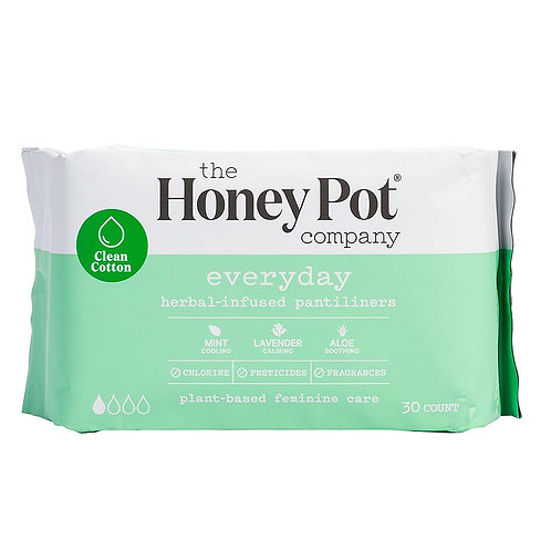 The Honey Pot Company - Everyday Herbal Menstrual Pantiliners