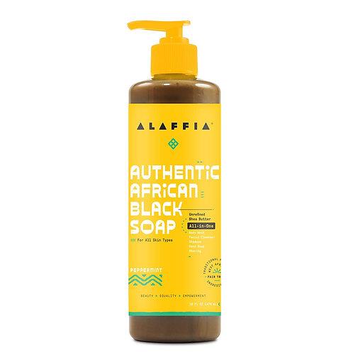 Alaffia Authentic African Black Soap