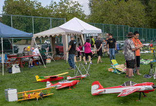 Burnaby Lake Flyers Fly-in August 2019